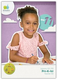 Answers Bible Curriculum PreK-1 Unit 11 Teacher Kit  (2nd Edition)