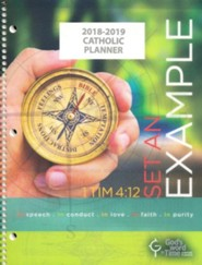 God's Word in Time Scripture Planner: Set An Example  Secondary Student Edition (NAB Version; Large; August 2018 -  July 2019)