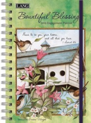 2019 Bountiful Blessings Engagement Planner