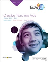 Bible-in-Life: Middle School Creative Teaching Aids, Winter 2018-19