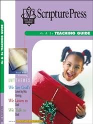 Scripture Press: 4s & 5s Teaching Guide, Winter 2018-19