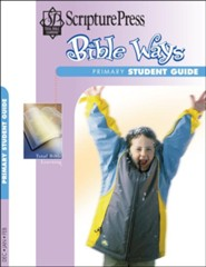 Scripture Press: Primary Bible Ways Student Book, Winter 2018-19
