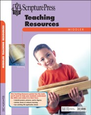 Scripture Press: Middler Teaching Resources, Winter 2018-19