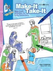Bible-in-Life: Early Elementary Make It Take It, Winter 2018-19