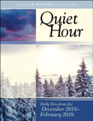 Bible-in-Life: The Quiet Hour Devotional Guide, Winter 2018-19