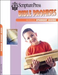 Scripture Press: Middler Bible Promises Student Book, Winter 2018-19