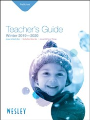 Wesley: Preschool Teacher's Guide, Winter 2019-20