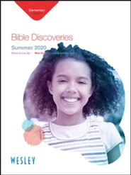 Wesley: Elementary Bible Discoveries Student Book, Summer 2020
