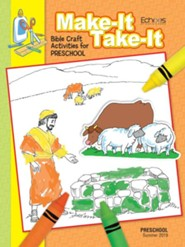 Echoes: Preschool Make It/Take It (Craft Book), Summer 2019