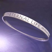 Sterling Silver Mobius Bracelet; St Francis Prayer Part 2