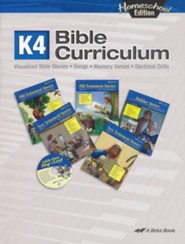 Abeka Homeschool K4 Bible Curriculum