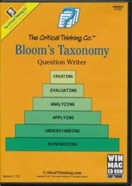 Bloom's Taxonomy CD-ROM (Homeschool  Edition)