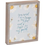 Your Word is a Lamp Framed Plaque