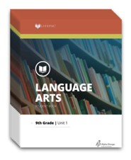 Lifepac Language Arts, Grade 9, Workbook Set