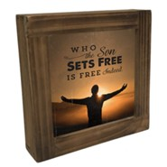 Overcomer Box Plaque