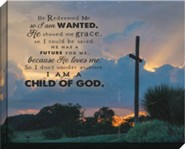 I Am A Child of God Canvas Art