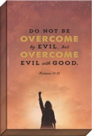 Overcomer Canvas Art