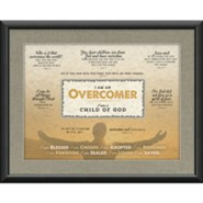 Overcomer Framed Art