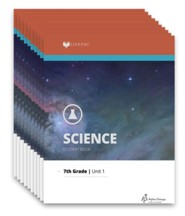 Lifepac General Science 1, Grade 7, Workbook Set