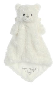 Little Angel Bear Luvster Plush, White