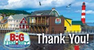 Big Fish Bay: Thank You Cards (pkg. of 20)