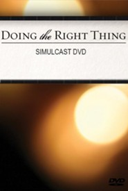 Doing the Right Thing, Webcast Event DVD