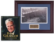 Billy Graham Commemorative Print & A Life in Pictures Bundle (Billy Graham in New York, 1991)