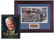 Billy Graham Commemorative Print & A Life in Pictures Bundle (Billy Graham in London, 1954)