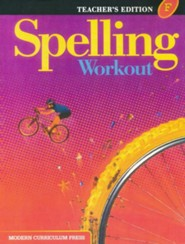 Spelling Workout 2001/2002 Level F Teacher Edition