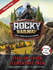Rocky Railway: Stay-On-Track Elementary Student Pack