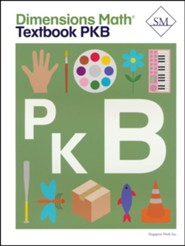 Dimensions Math Textbook Pre-K B