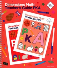 Dimensions Math Teacher's Guide Pre-K A