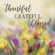 Thankful, Grateful, Blessed Trivet