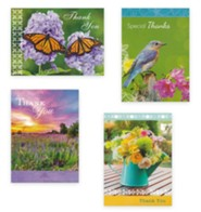 Assorted Thank You Cards, Box of 12