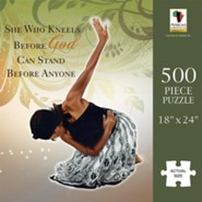 She Who Kneels Puzzle, 500 Pieces