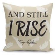 And Still I Rise Pillow Cover