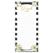 Blessed, Magnolia, Magnetic Notepad