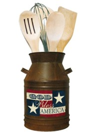 God Bless America Utensil Set