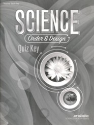Science: Order and Design (Grade 7) Quiz Key