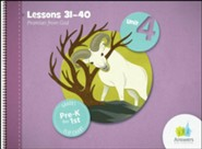 Answers Bible Curriculum PreK-1 Unit 4 Flip Chart (2nd Edition)