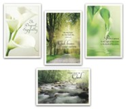 Tranquility, Sympathy Cards, Box of 12