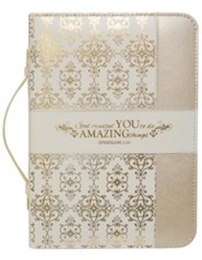 Created to Do Amazing Things (Eph. 2:10) Bible Cover, Large