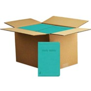 Imitation Leather Teal By the Case English