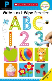 Write and Wipe Flip Book: ABC 123