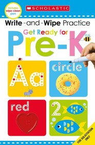 Write And Wipe Flip Book: Get Ready For Pre-K