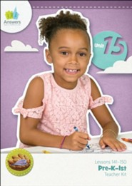 Answers Bible Curriculum PreK-1 Unit 15 Teacher Kit (2nd Edition)
