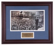 Billy Graham in London, 1954 Commemorative Print