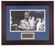 Billy Graham and the Bible, Commemorative Print