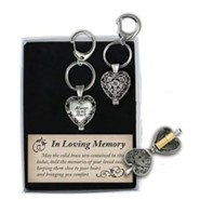 Always in My Heart, Heart Locket, Keychain