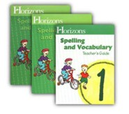 Horizons Spelling & Vocabulary